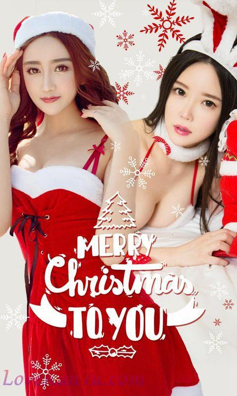 Ugirls爱尤物系列No.950暖暖圣诞节陶欣儿七七
