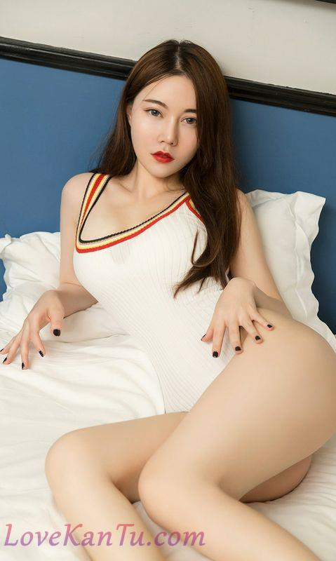 嫩模刘邦妮私房透明薄纱-连体比基尼秀完美身材诱惑写真